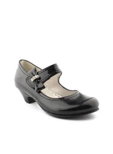 Cici Bebe Ayakkabı Rugan E Kız Çocuk Abiye Siyah